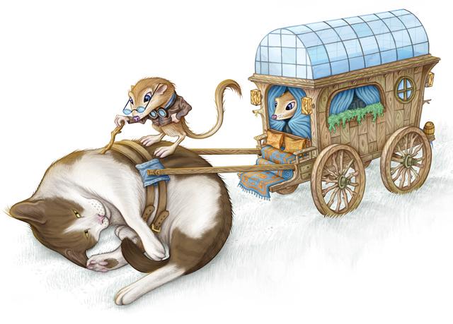 Kangaroo Rat Caravan